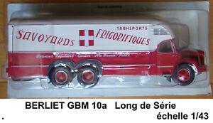 n° 34 camion berliet gbm 10 a transports m. dougoud 1/43 0