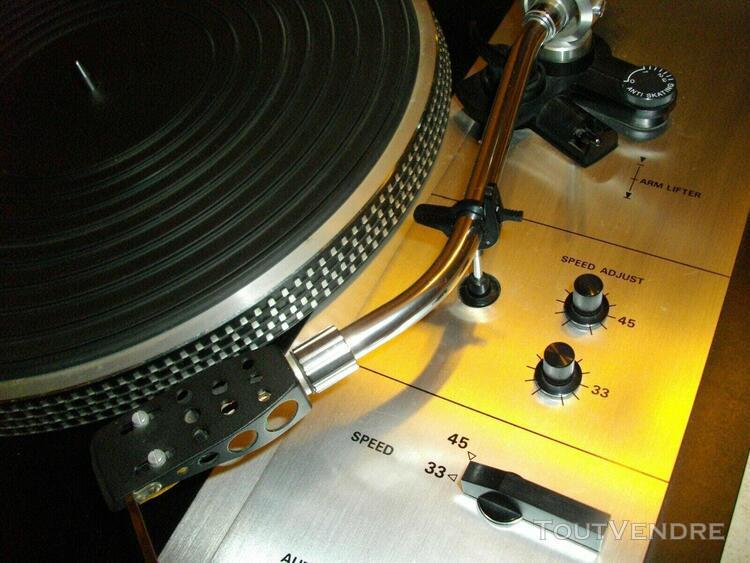 platine vinyls denon sl-9da vintage + capot 0