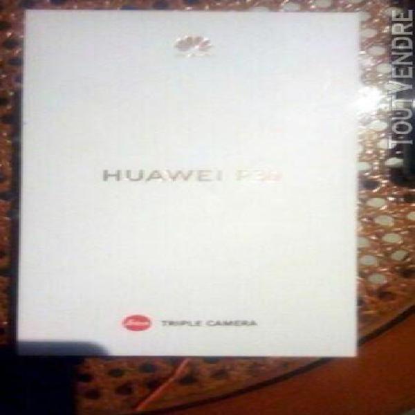 huawei p30, 8go, 256go. (bleu) 0