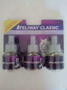 feliway classic - pack de 3 recharges 48 ml 0