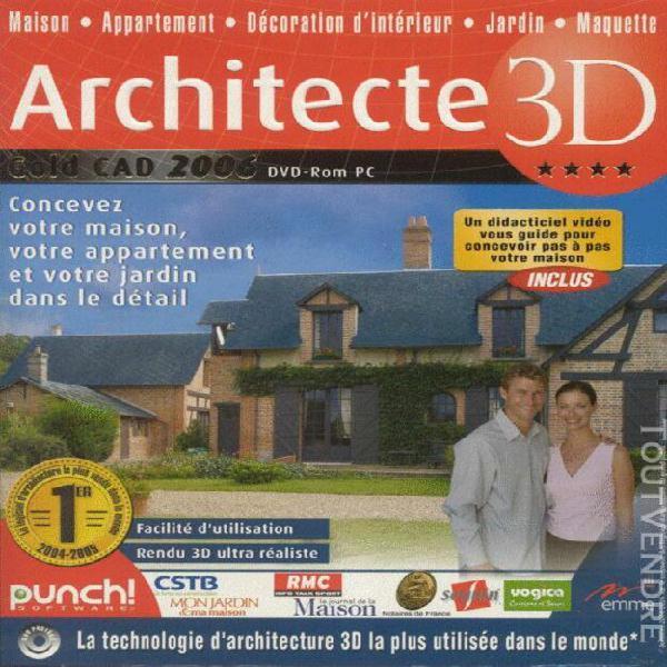 architecte 3d gold cad 2006 0