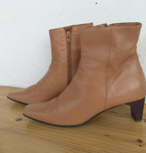 botas mujer de piel 0