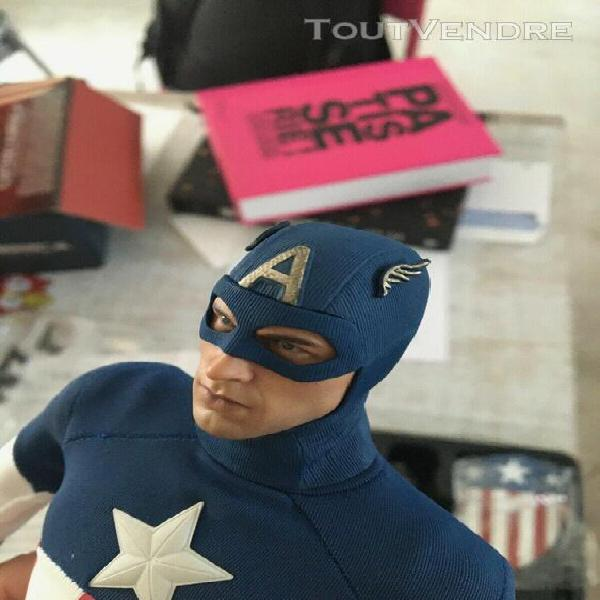 hot toys mms 205 captain america star spangled version 0