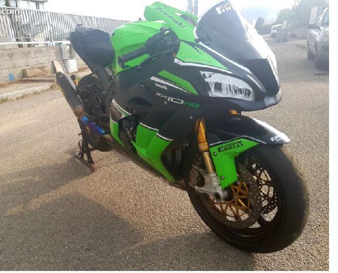 zx10r de 2017 montée superbike 0