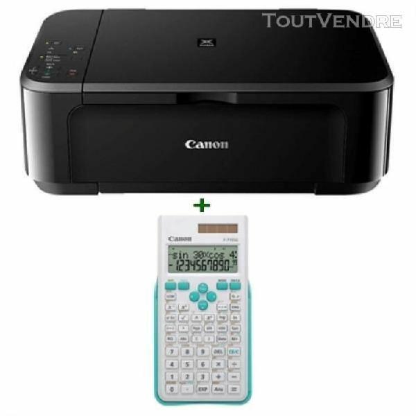 canon multifunción pixma mg3650s negra/calculadora 0