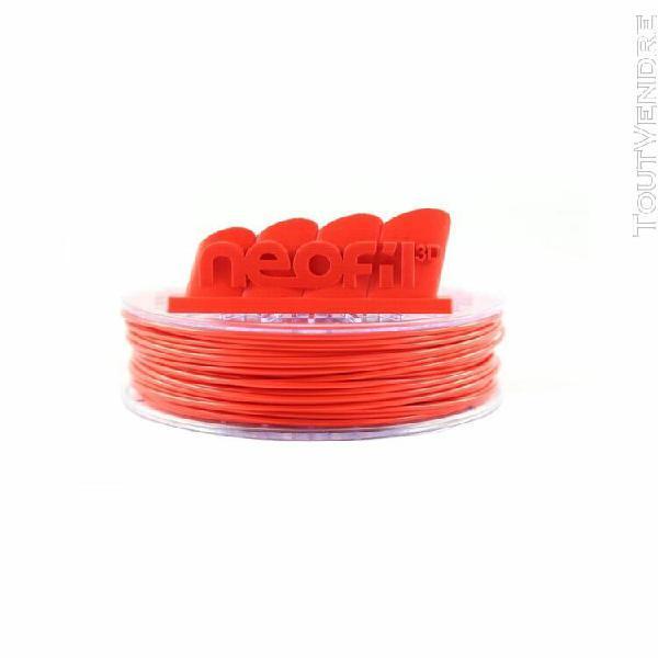filament 3d neofil3d pla rouge 1.75mm 250gr 0