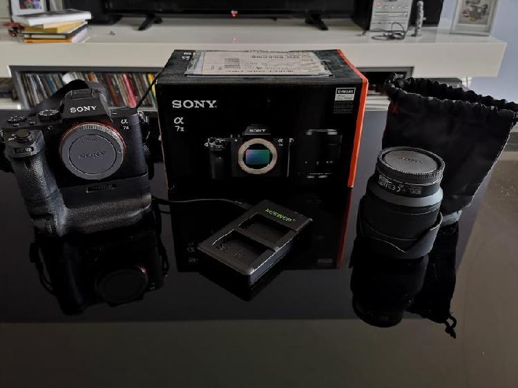 sony alpha 7 ii + 28-70mm f3.5 + grip 0