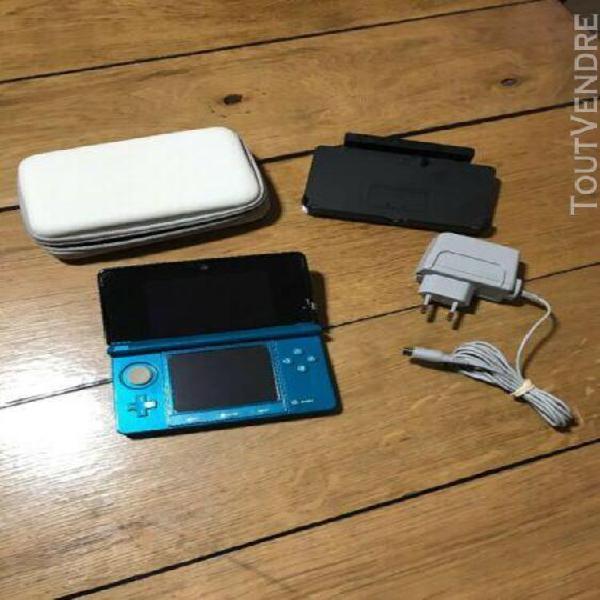 nintendo new 3ds bleu luma fbi cfw 2go + 24 jeux 0