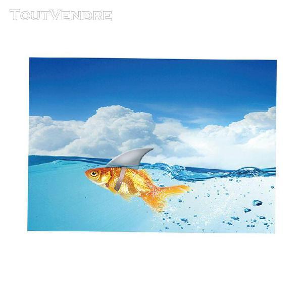 aquarium poisson aquarium adhésif fond image décoration 0