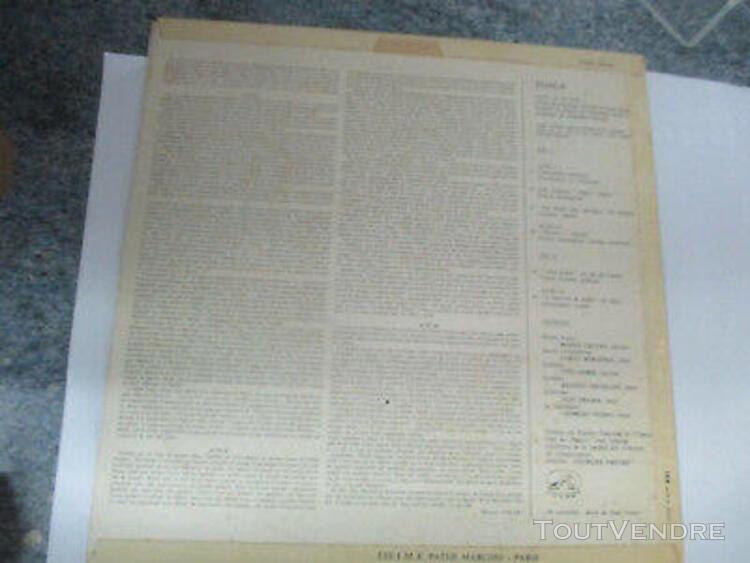 lp 33 t tosca pages choisies de l'opéra de puccini maria 0