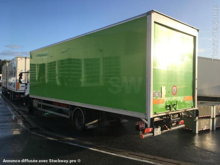 camion (ptac > 3,5 t) fourgon avec parois et toit rigide - i 0