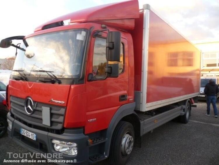 camion (ptac > 3,5 t) fourgon avec parois et toit rigide - m 0