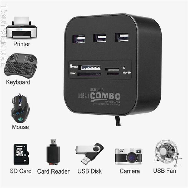 lecteur de carte usb 3.0 usb hub avec lecteur de cartes usb 0