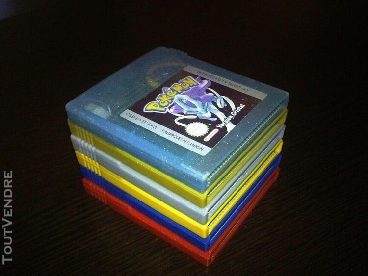 pokémon full set fra versions rouge, bleue, jaune, or, 0