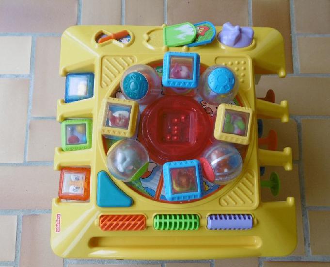 gros cube de jeux multi activités fisher price 0