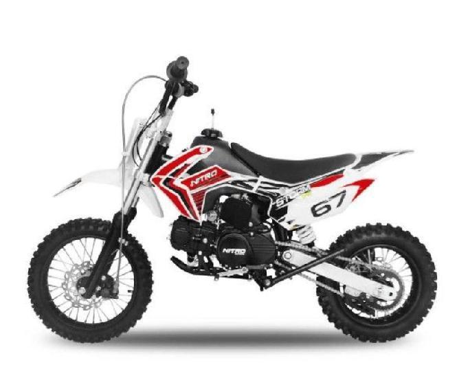 new 2019 dirt bike nitro 110cc automatique 4 t 0