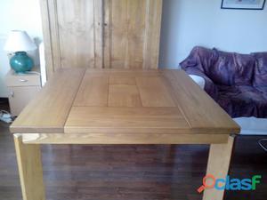 Table à manger design en orme