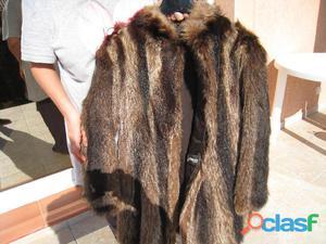manteau de fourrure en renard