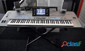 Yamaha tyros 5 76 arrangeur clavier avec haut parleurs   2e main