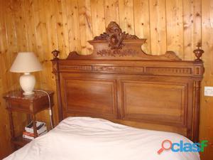 Chambre à coucher henri ll, complete