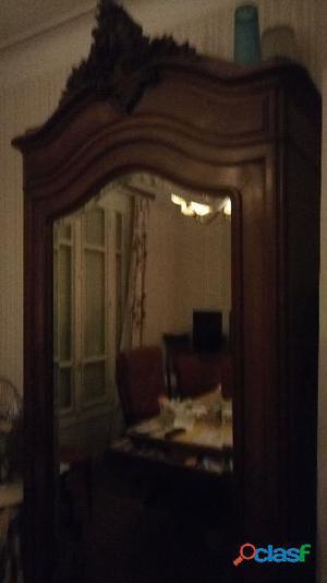 armoire 1 porte miroir ancienne clasf. Black Bedroom Furniture Sets. Home Design Ideas