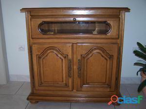 meuble TV 100% chene massif