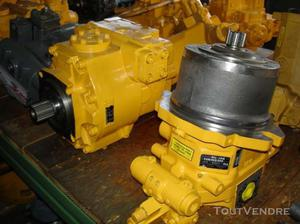Reparation pompe hydraulique moteur hydraulique