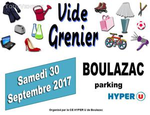 Vide grenier du ce - parking hyper u - boulazac 24
