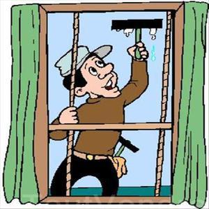 Nettoyage de vitres