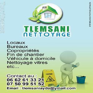 Services de nettoyage tous locaux et véhicules