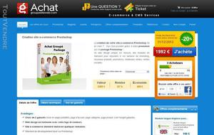 Solutions e-commerce et services web, achatgroupé