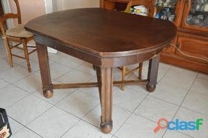 Table ovale de salle à manger
