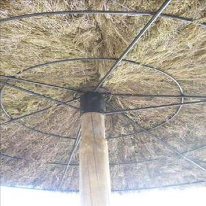 parasol exotique en brande de bruyère naturelle promotion