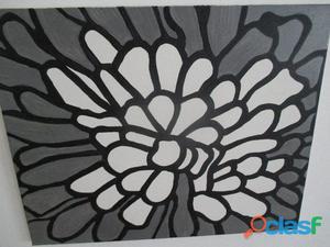 Peinture sur toile flower