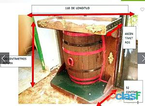 Meuble en bois pour bouteilles