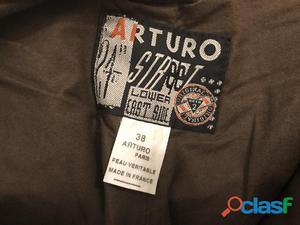 Pantalon cuir arturo taille 38