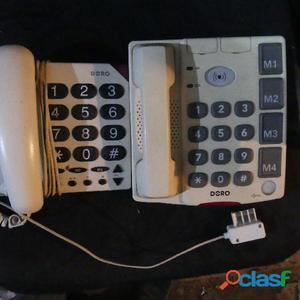 Téléphones doro adaptés aux malentendants et malvoyants