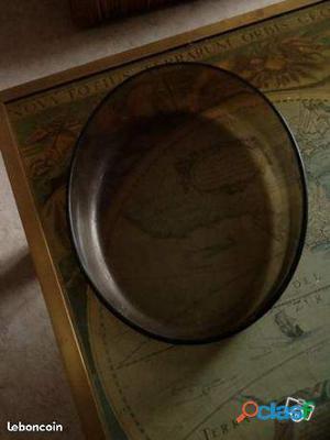 Plat en pyrex ovale