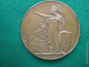 """Médaille du siège de paris """" emploi des aérostats """""""