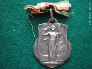 Médaille italienne remise aux soldats français 1918.