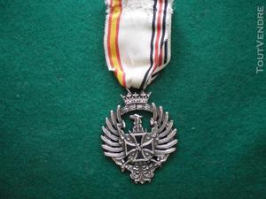 Médaille vétéran division azul. division azul veteran
