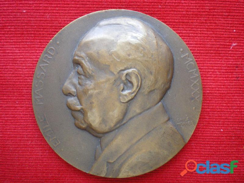 Médaille emile massard conseiller municipal de paris.