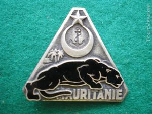 Insigne gendarmerie: garde de mauritanie.