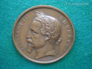 Médaille de napoléon iii empereur   prix de lavis.