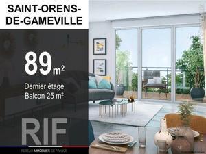 Appartement t4 de 89 m² avec balcon