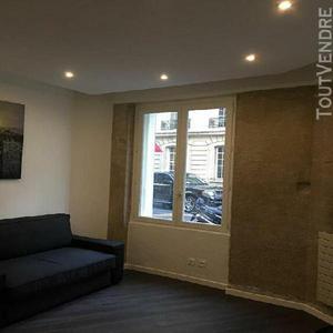Paris 75016 location studio meuble