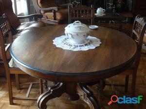 Table guéridon napoléon iii
