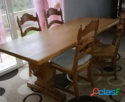 Magnifique table de salle a manger