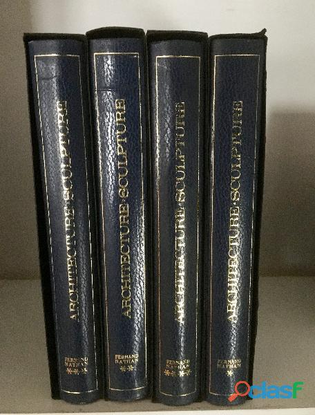 Encyclopédie architecture et sculpture 4 vol