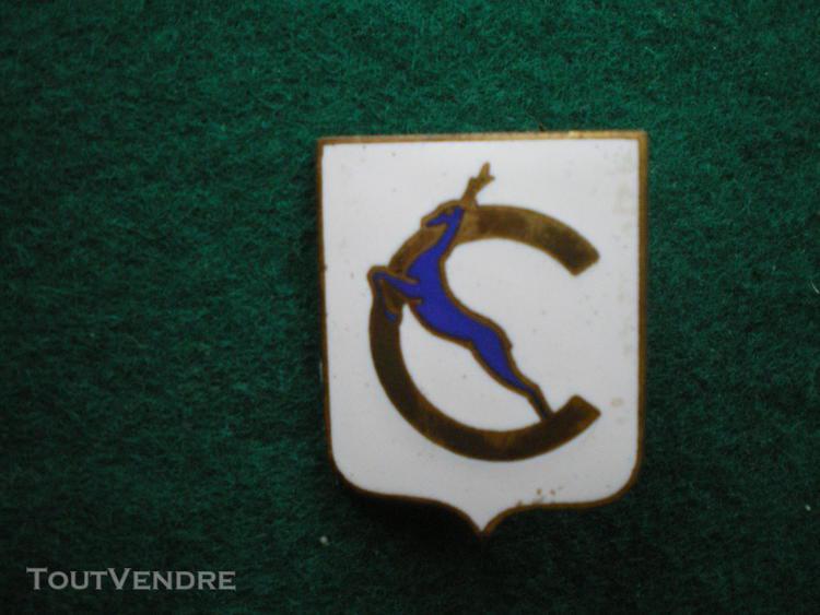 Insigne de marine   aviso dragueur chevreuil.